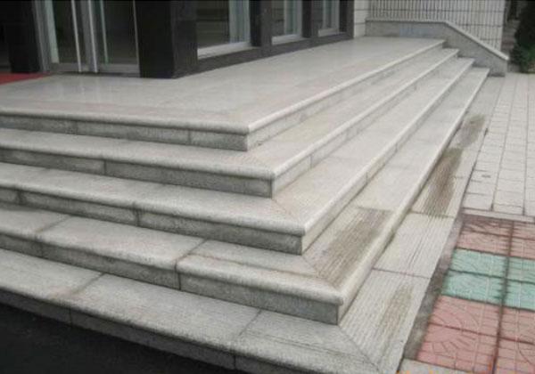 芝麻白台阶工程案例